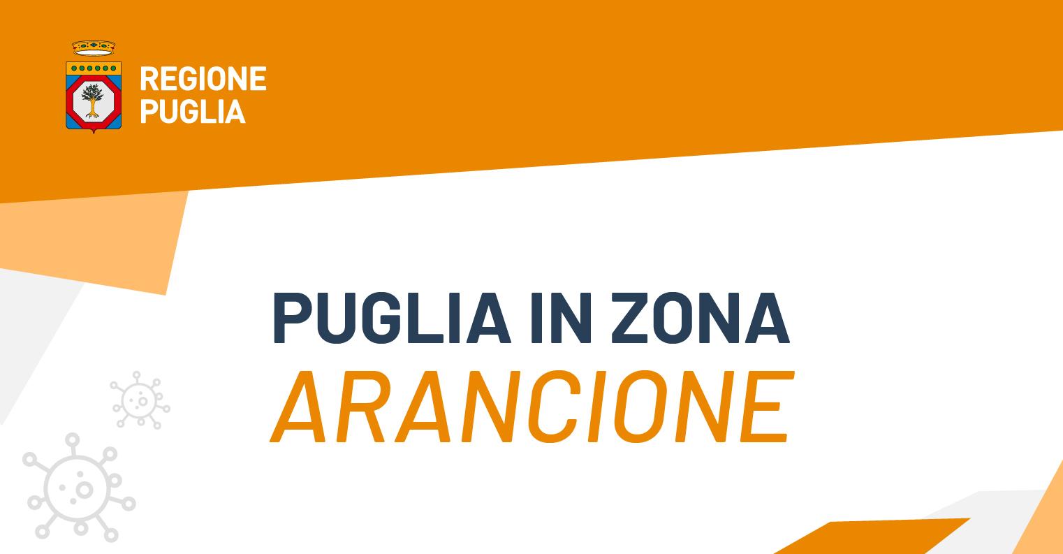 La Puglia resta Zona Arancione per un'altra settimana, almeno fino al 14 febbraio